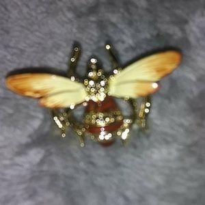 Vintage bumble bee pin